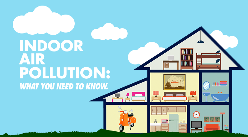 [Infographic] Causes, Effects, and Solutions to Indoor Air Pollution